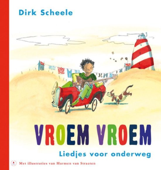 Boek cover Vroem, vroem + cd van Dirk Scheele (Hardcover)