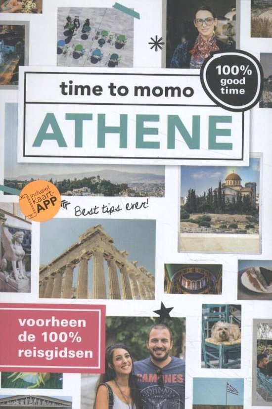 Boek cover Time to momo  -   Athene van Marleen Veldhorst (Paperback)