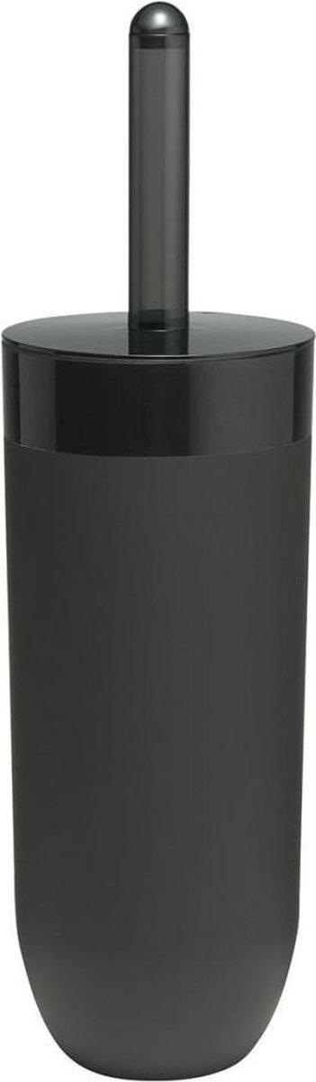 Sealskin Bloom Toiletborstel met houder - Zwart