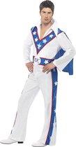 """""""Kostuum van stuntman Evel Knievel voor volwassenen - Verkleedkleding - Large"""""""