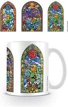 Nintendo The Legend Of Zelda Stained Glass Tri Mok