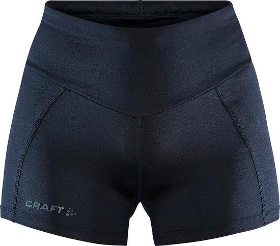 Craft Adv Essence Hot Pant Tights W Sportbroek Dames - Black