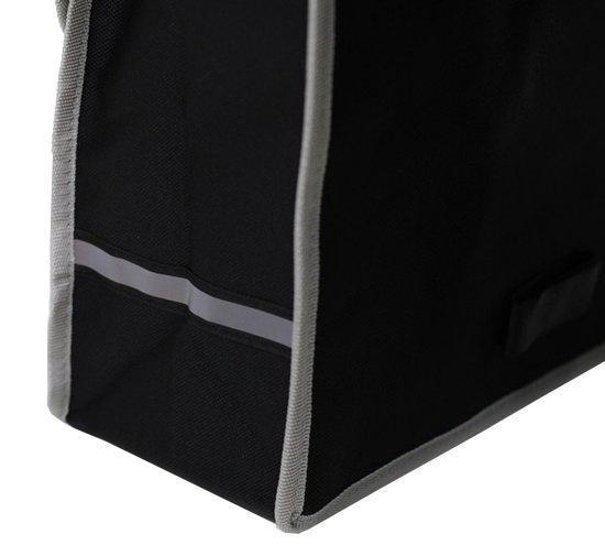Dunlop Dubbele Fietstas - Zwart - 26 liter