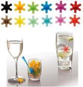Set van 12 glasmarkers  - Mastrad