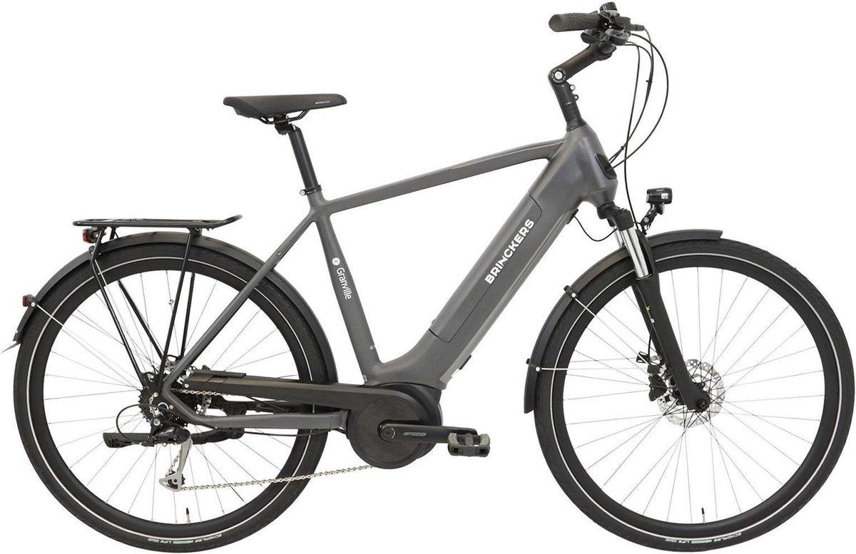 Brinckers Granville Sport M9 Elektrische fiets - Heren - 60 cm - Titanio