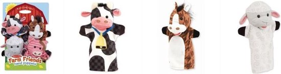 Melissa & Doug - Farm Friends - Handpoppen