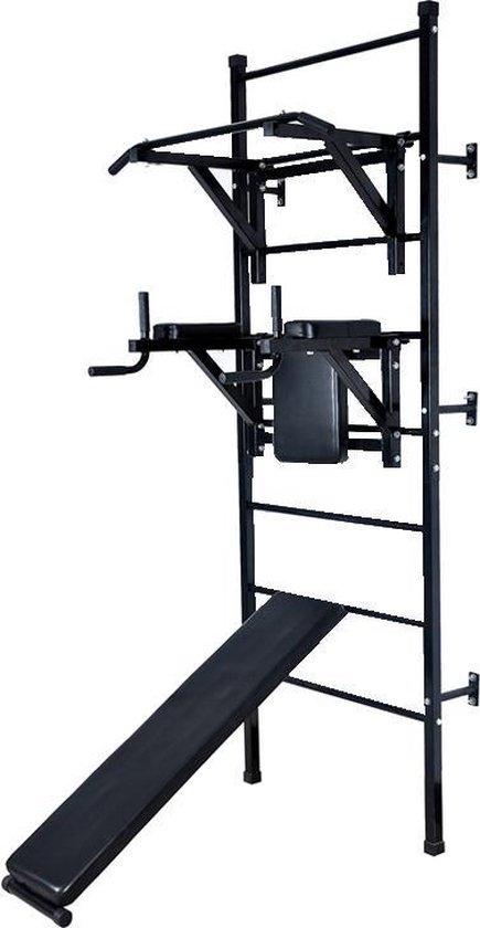 Krachtstation / fitnessstation - Zwart