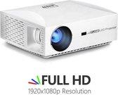 Mini beamer| Mini projector| Full HD| Beamer| Kleine beamer| Compacte beamer| Home Cinema|1920X1080|Draagbare Beamer| Kleine Projector| Full HD Beamer| Thuis Bioscoop| 1080P