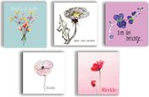 condoleance kaarten - sterkte kaarten - bloemen - opvrolijken - sterkte - beterschap