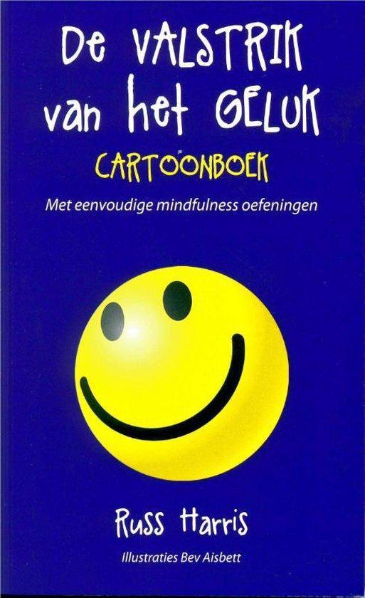 Boek cover De valstrik van het geluk cartoonboek van Russ Harris (Paperback)