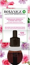Botanica by Air Wick Elektrische Geurverspreider - Oosterse Geranium & Rozen - Navulling - 3 Stuks