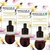 Botanica by Air Wick Elektrische Geurverspreider - Magnolia uit de Himalaya & Vanille Navulling - 3 Stuks - Voordeelverpakking