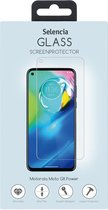 Selencia Gehard Glas Screenprotector voor de Motorola Moto G8 Power