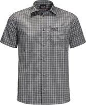 Jack Wolfskin El Dorado Shirt Outdoorblouse Heren - Phantom Checks - Maat XXXL