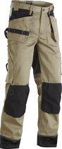 Blaklader Werkbroeken met kniestukken Khaki/ZwartNL:60 BE:54
