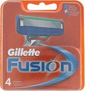 Gillette Fusion Manual - 4 stuks - Scheermesjes