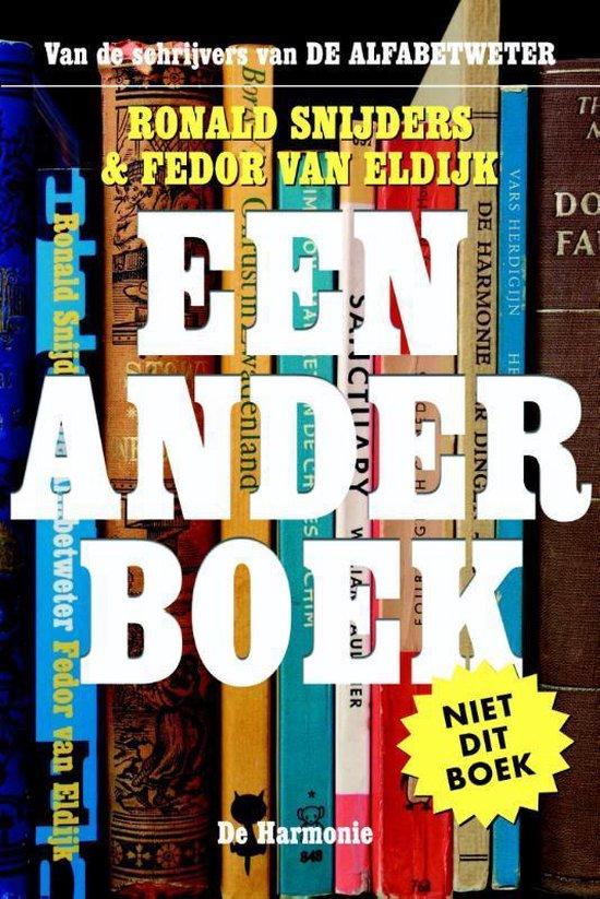 Een ander boek - Ronald Snijders | Fthsonline.com