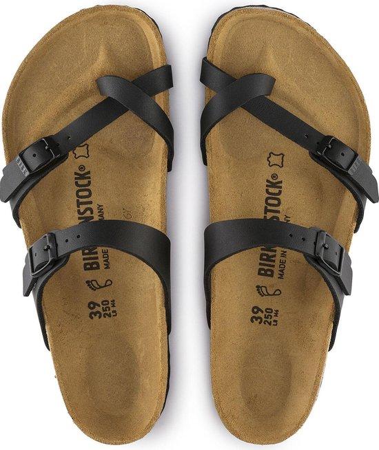 Birkenstock Mayari Slippers Zwart - Maat 35 LHOfas