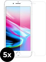 5x Tempered Glass screenprotector -  iPhone 8