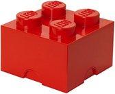 LEGO Storage Brick Opbergbox - 6L - Kunststof - Rood