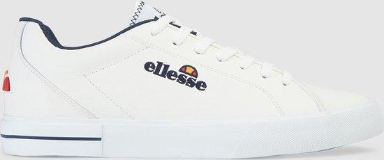 Ellesse Taggia Heren Sneakers - Wit/Donkerblauw - Maat 40.5
