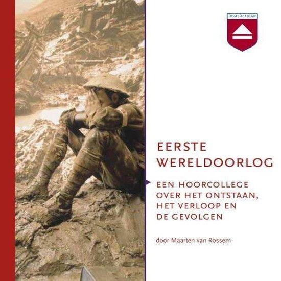 Boek cover Eerste Wereldoorlog van Maarten van Rossem (Onbekend)
