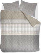 Beddinghouse Dorette - Dekbedovertrek - lits-jumeaux - 240x200/220 cm - Grijs
