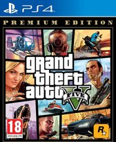 GTA V - (Grand Theft Auto 5) - Premium Edition - PS4