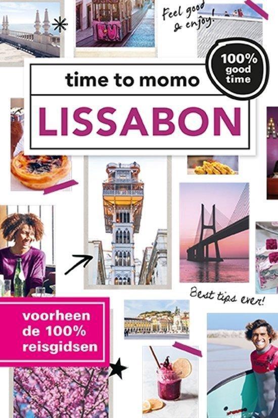 Cover van het boek '100 % Lissabon' van M. de Louw