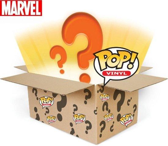 Funko Pop! Mystery Box -6 stuks Thema MARVEL