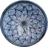 Handgemaakte en handbeschilderde authentieke Marokkaanse kom 18 cm