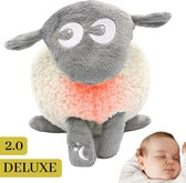 Ewan het Droomschaap Grijs Deluxe Babyknuffel - Goedenacht Slaapknuffel - Kraamcadeau Knuffel - ED-01002