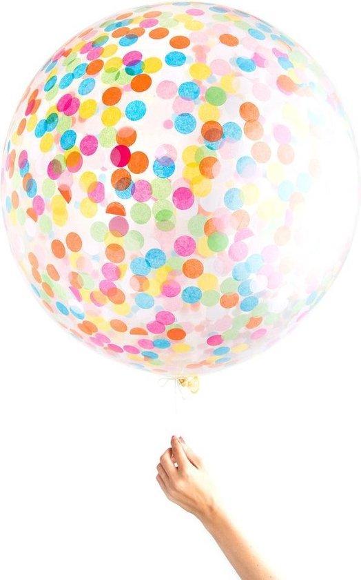 Knot & Bow   Jumbo Ballon   Regenboog   1 stuks   90 cm