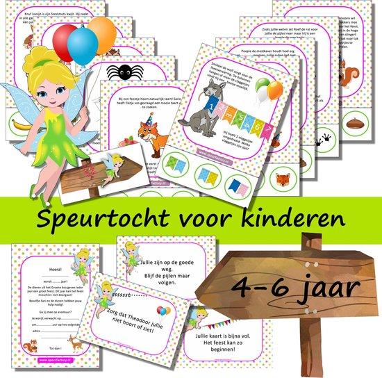 Afbeelding van het spel Speurtocht voor kinderen - Het Boselfje en het dierenfeest  - 4 t/m 6 jaar - kinderfeestje - speurtocht- speurpakket - compleet draaiboek - PRINT ZELF UIT!