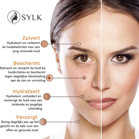 Sylk Actieve Retinol Serum & Hyaluronzuur serum | Vitamine E | Anti Aging | Anti Rimpel | Gezicht Serum | Gezichtsverzorging | 60 ml