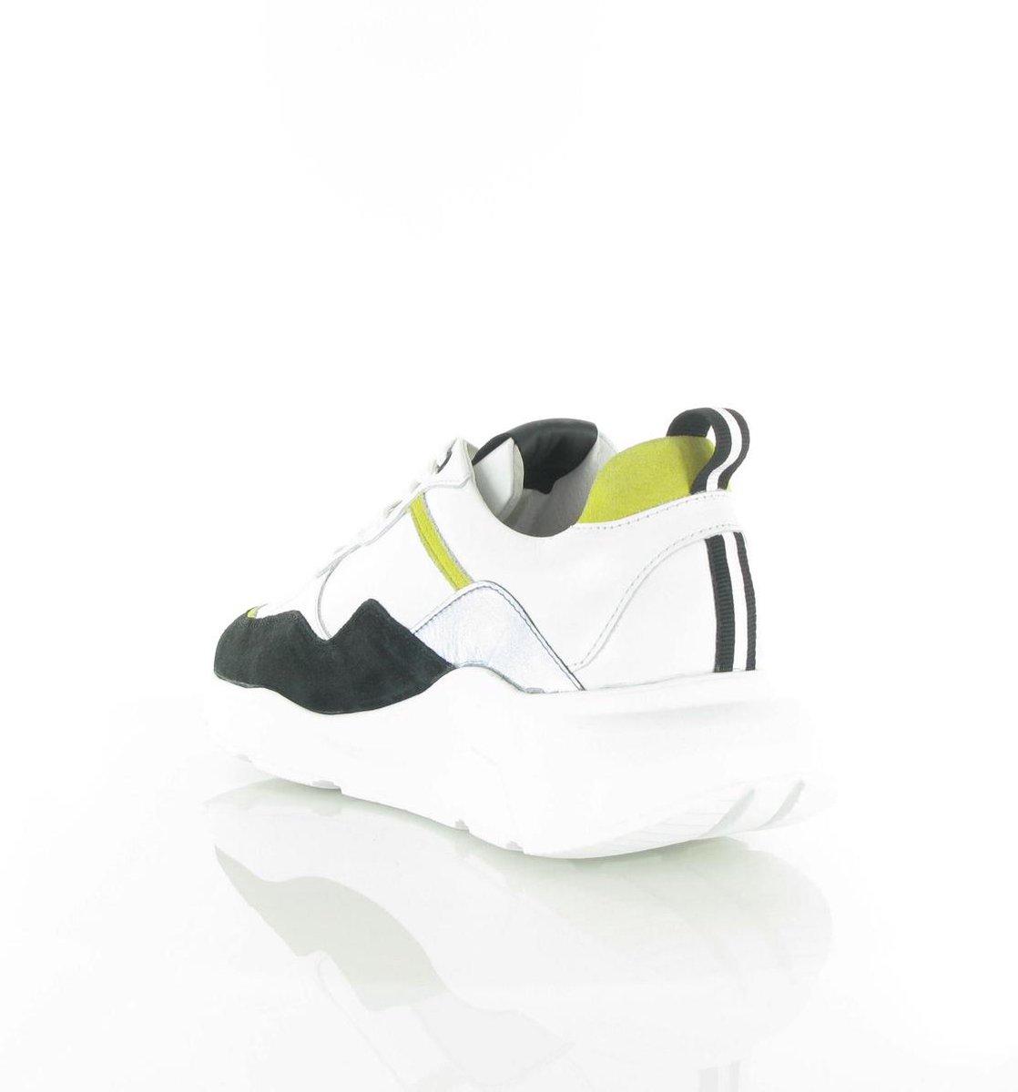 Blackstone Mannen Sneakers -  Tg43 - Wit - Maat 41 Sneakers