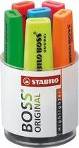 STABILO BOSS ORIGINAL - Speciale Bureauset - Met 6 Kleuren