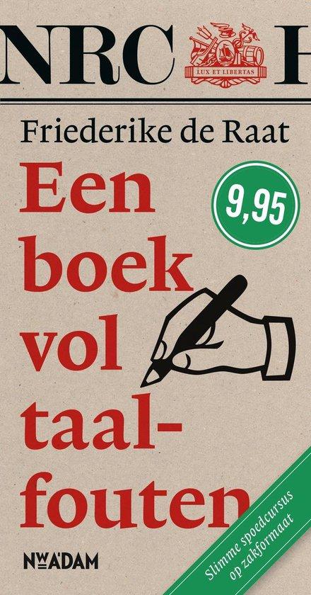 Een boek vol taalfouten - Friederike de Raat |