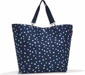 Reisenthel Shopper XL Strandtas - Spots Navy Blauw