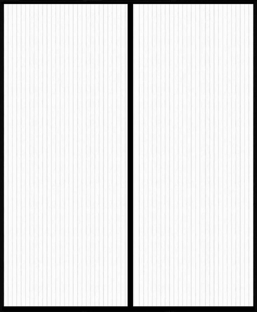 O'DADDY Vliegengordijn deur magnetisch - dubbel openslaande deur - 184x230 zwart