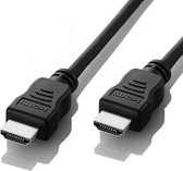 Valueline High Speed HDMI-kabel met ethernet HDMI-connector - HDMI-connector 3,00 m zwart