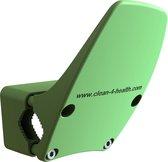 Deuropener - Deur openen zonder handen te gebruiken - Voor deurklink en deurkruk - Hygiënisch deurbeslag - Groen