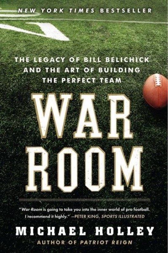 Boek cover War Room van Michael Holley (Paperback)