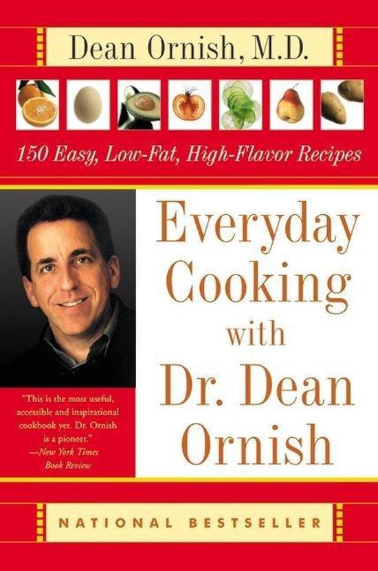 Boek cover Everyday Cooking with Dr. Dean Ornish van Dr Dean Ornish (Paperback)