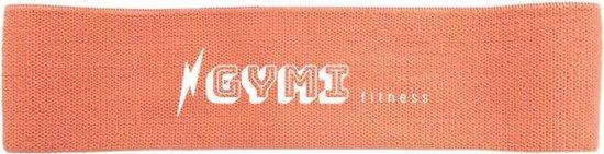 GYMI fitness weerstandsbanden | Resistance band | Fitness elastiek | Booty Band | Weerstandsband peach| Sterkte: zwaar
