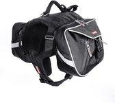 Ezydog Summit Backpack / Hondenrugzak, zwart, maat L