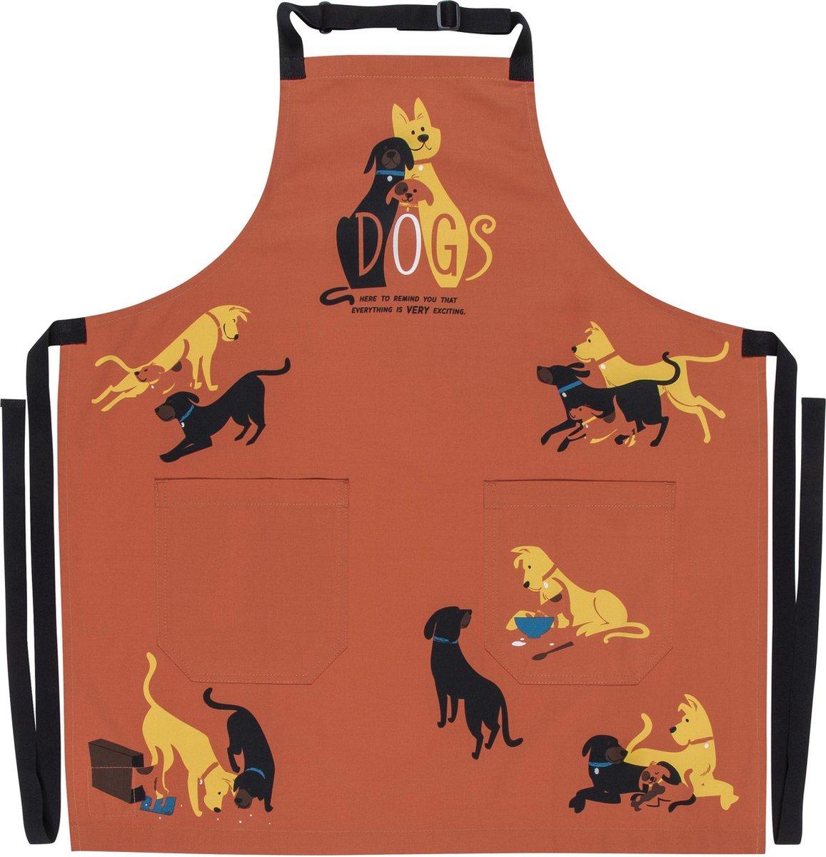 BlueQ BBQ Schort - Honden