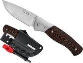 Buck Knives Large Folding Selkirk Micarta Clampack