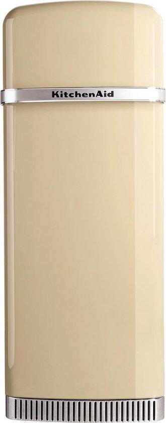Koelkast: KitchenAid KCFMA 60150R rechts draaiend retro koelkast Vrijstaand Beige 230 l A+, van het merk KitchenAid