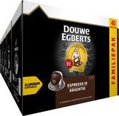 Douwe Egberts Espresso Krachtig Koffiecups - 5 x 40 cups - voordeelpak - 200 koffiecups